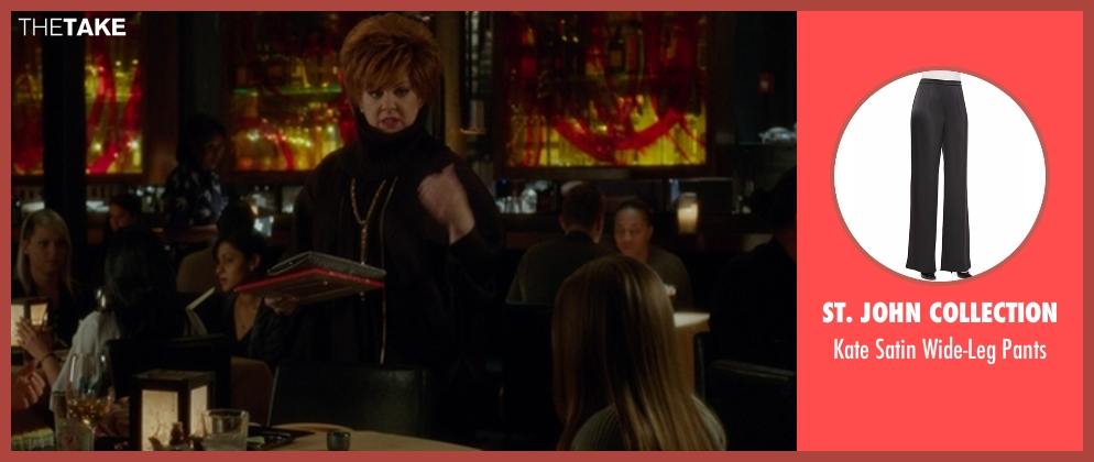St. John Collection black pants from The Boss seen with Melissa McCarthy (Michelle Darnell)