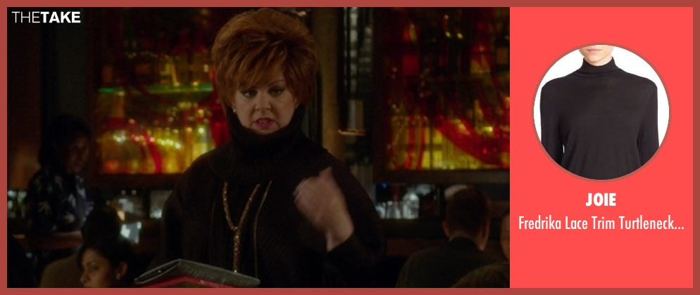 Joie black sweater from The Boss seen with Melissa McCarthy (Michelle Darnell)