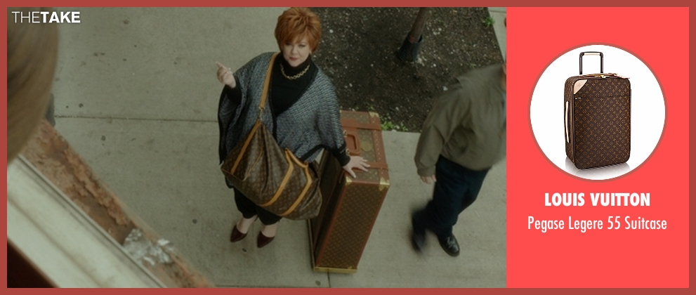 Louis Vuitton brown suitcase from The Boss seen with Melissa McCarthy (Michelle Darnell)
