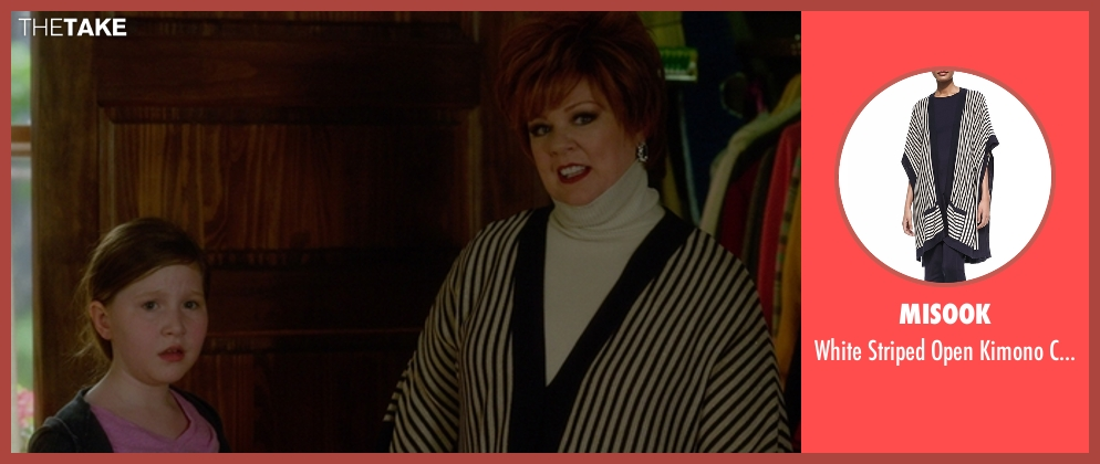 Misook cardigan from The Boss seen with Melissa McCarthy (Michelle Darnell)
