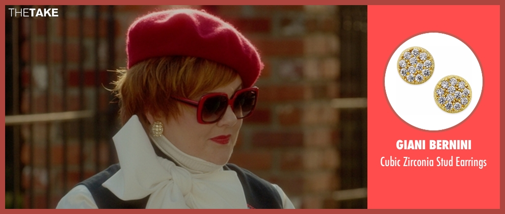 Giani Bernini earrings from The Boss seen with Melissa McCarthy (Michelle Darnell)