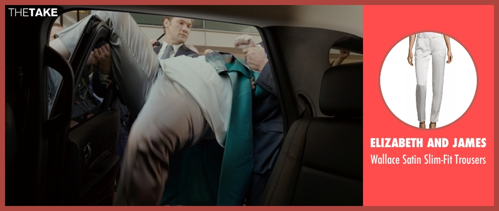 Elizabeth and James gray trousers from The Boss seen with Melissa McCarthy (Michelle Darnell)