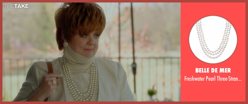 Belle de Mer necklace from The Boss seen with Melissa McCarthy (Michelle Darnell)