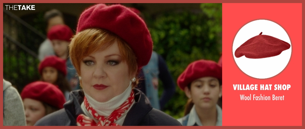 Village Hat Shop red beret from The Boss seen with Melissa McCarthy (Michelle Darnell)
