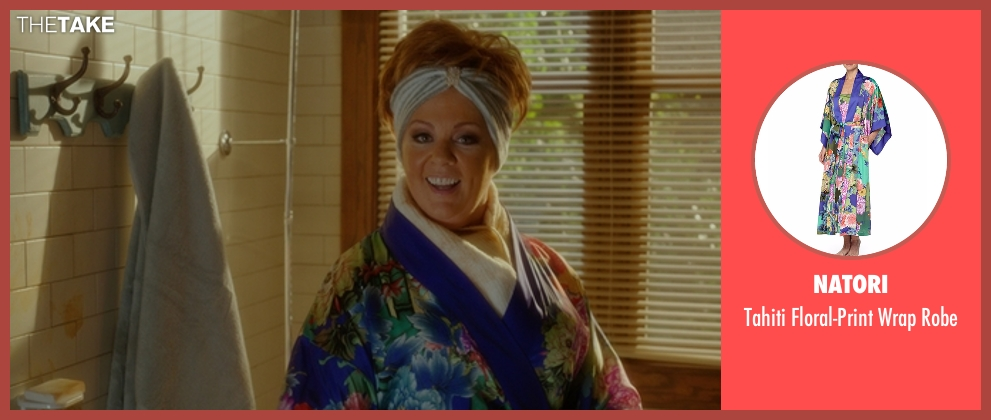 Natori robe from The Boss seen with Melissa McCarthy (Michelle Darnell)