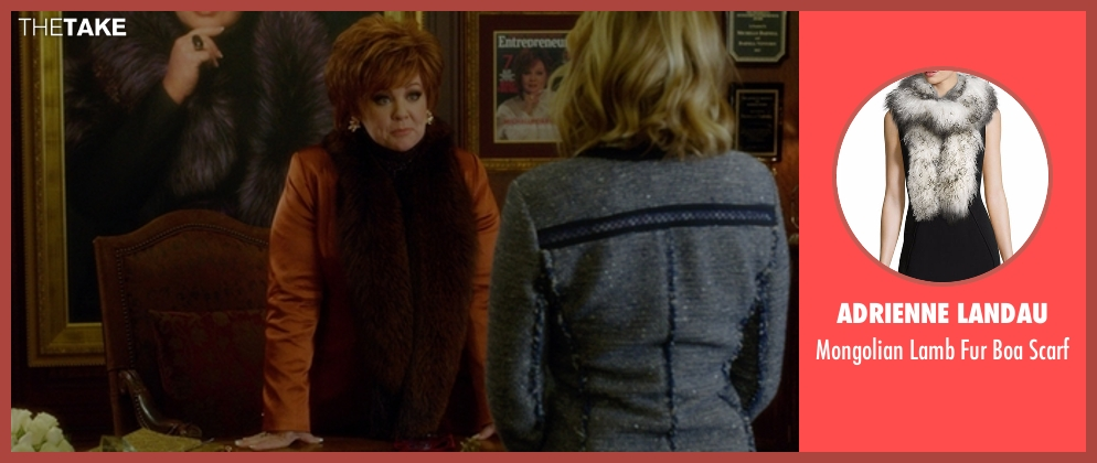 Adrienne Landau scarf from The Boss seen with Melissa McCarthy (Michelle Darnell)