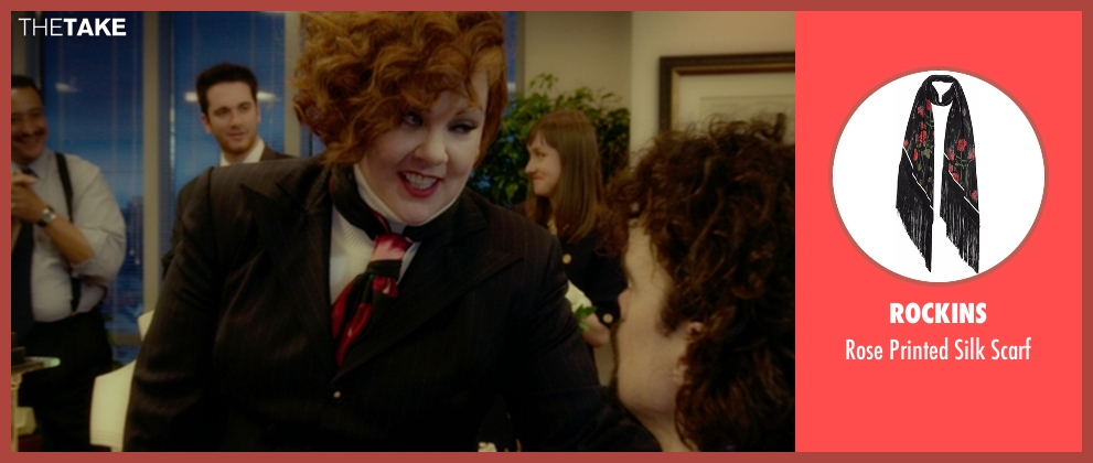 Rockins scarf from The Boss seen with Melissa McCarthy (Michelle Darnell)