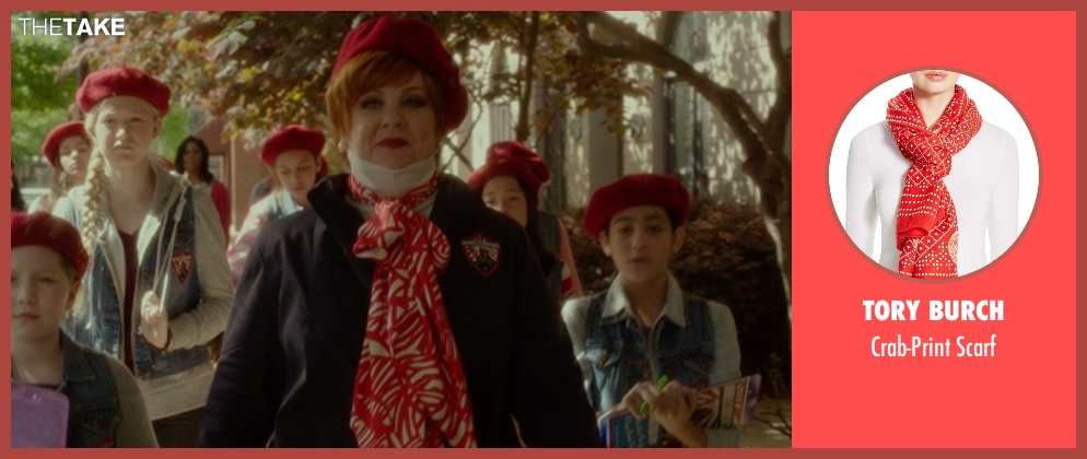Tory Burch scarf from The Boss seen with Melissa McCarthy (Michelle Darnell)
