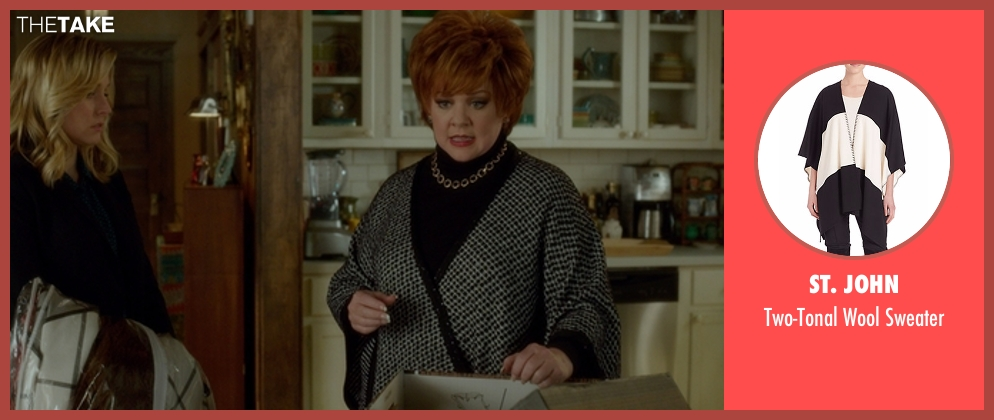 St. John sweater from The Boss seen with Melissa McCarthy (Michelle Darnell)