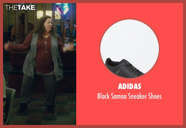 Adidas black shoes from The Heat seen with Melissa McCarthy (Mullins)