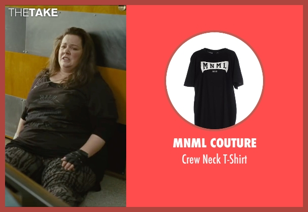 Mnml Couture black t-shirt from The Heat seen with Melissa McCarthy (Mullins)