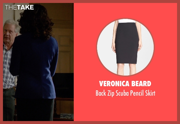 Veronica Beard black skirt from Scandal seen with Mellie Grant (Bellamy Young)