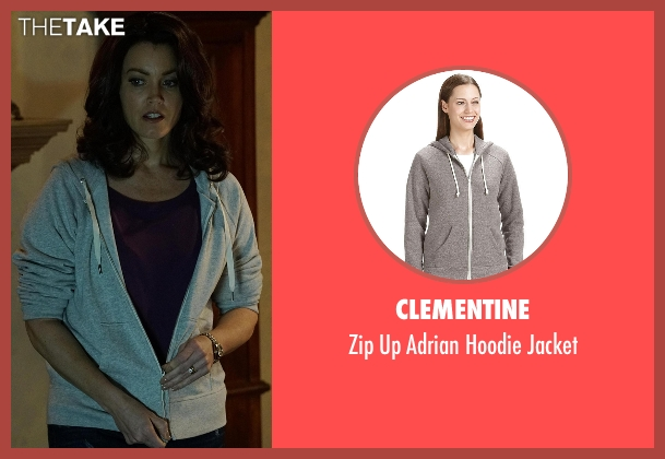 Clementine gray jacket from Scandal seen with Mellie Grant (Bellamy Young)