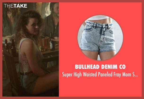 Bullhead Denim Co blue shorts from The Best of Me seen with Mia Frost (Brandi)