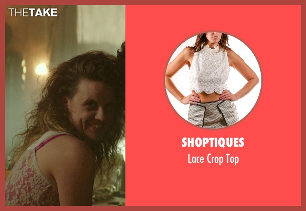 Shoptiques white top from The Best of Me seen with Mia Frost (Brandi)