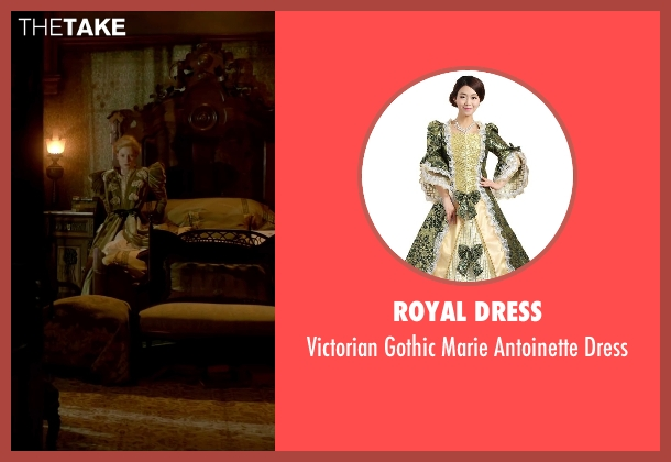 Royal Dress dress from Crimson Peak seen with Mia Wasikowska (Edith Cushing)