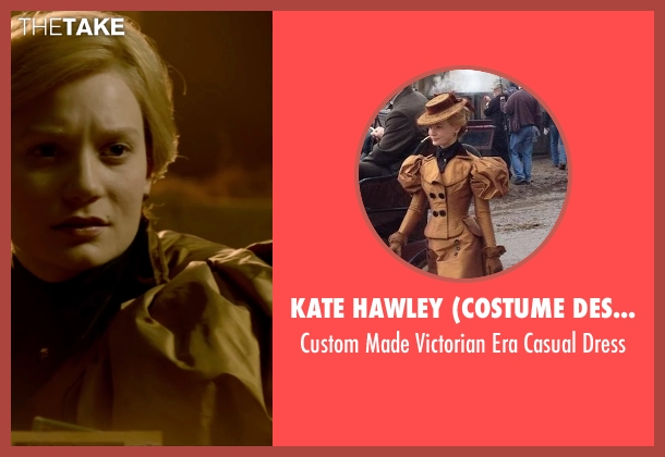 Kate Hawley (Costume Designer) dress from Crimson Peak seen with Mia Wasikowska (Edith Cushing)