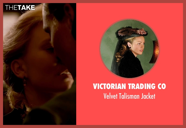 Victorian Trading Co jacket from Crimson Peak seen with Mia Wasikowska (Edith Cushing)