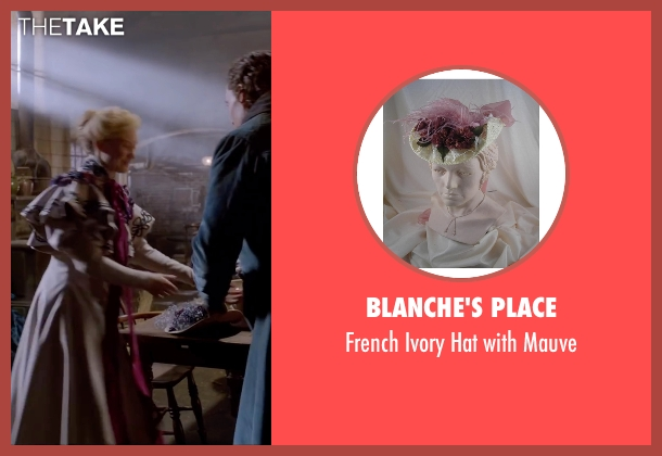 Blanche's Place purple mauve from Crimson Peak seen with Mia Wasikowska (Edith Cushing)