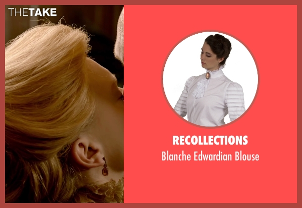 Recollections white blouse from Crimson Peak seen with Mia Wasikowska (Edith Cushing)