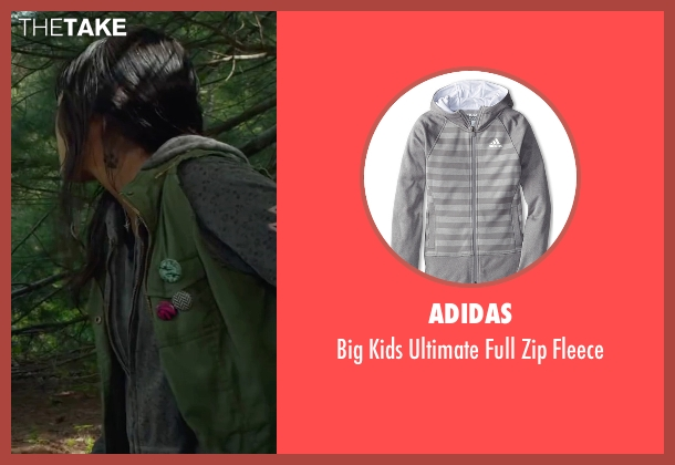Adidas gray fleece from Max seen with Mia Xitlali (Carmen)