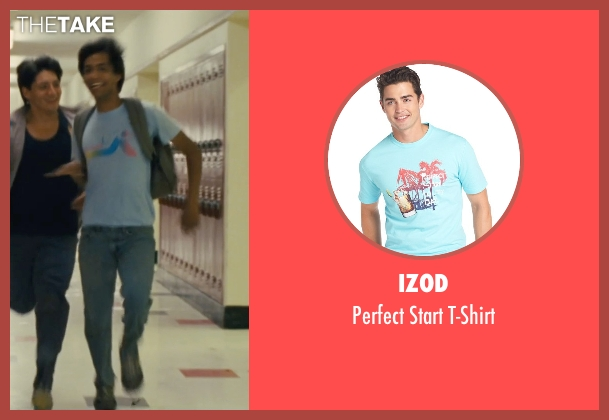 Izod blue t-shirt from McFarland, USA seen with Michael Aguero (Damacio Diaz)