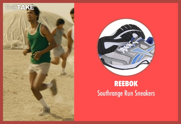 Reebok gray sneakers from McFarland, USA seen with Michael Aguero (Damacio Diaz)