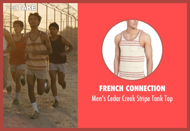 French Connection red top from McFarland, USA seen with Michael Aguero (Damacio Diaz)