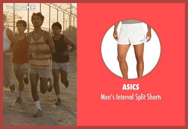 Asics white shorts from McFarland, USA seen with Michael Aguero (Damacio Diaz)