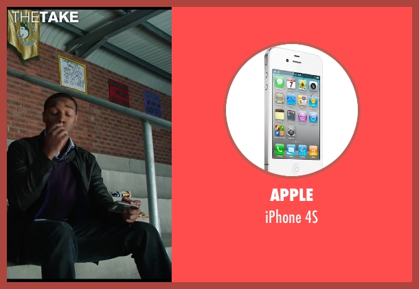 Apple 4s from Chronicle seen with Michael B. Jordan (Steve Montgomery)