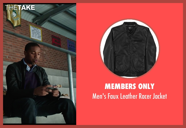 Members Only black jacket from Chronicle seen with Michael B. Jordan (Steve Montgomery)