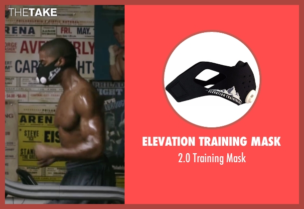 Elevation Training Mask mask from Creed seen with Michael B. Jordan (Adonis Johnson)