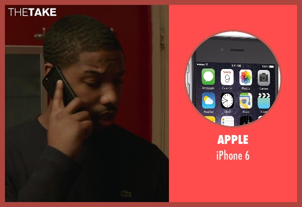 Apple 6 from That Awkward Moment seen with Michael B. Jordan (Mikey)
