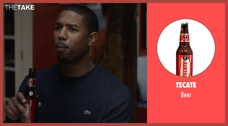 Tecate beer from That Awkward Moment seen with Michael B. Jordan (Mikey)
