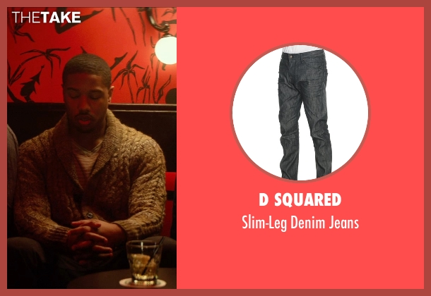 D Squared black jeans from That Awkward Moment seen with Michael B. Jordan (Mikey)