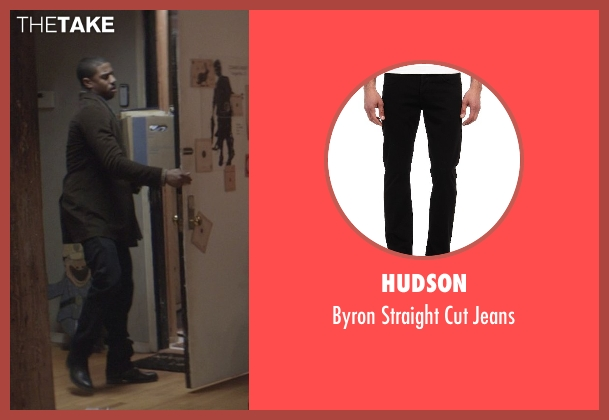 Hudson black jeans from That Awkward Moment seen with Michael B. Jordan (Mikey)