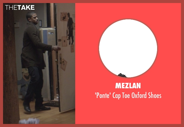 Mezlan black shoes from That Awkward Moment seen with Michael B. Jordan (Mikey)