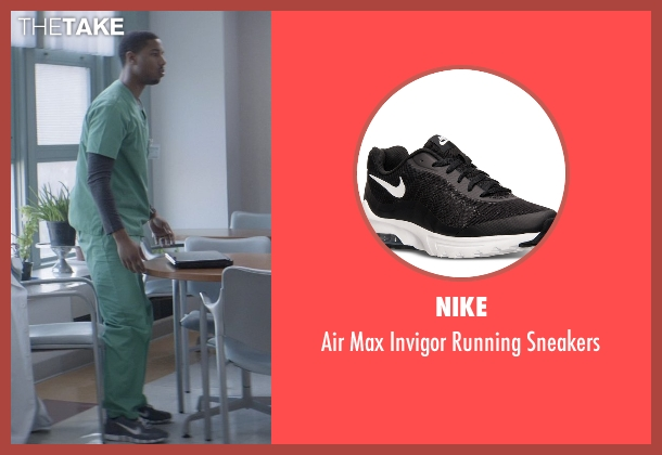 Nike black sneakers from That Awkward Moment seen with Michael B. Jordan (Mikey)
