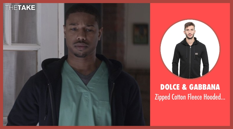 Dolce & Gabbana black sweatshirt from That Awkward Moment seen with Michael B. Jordan (Mikey)