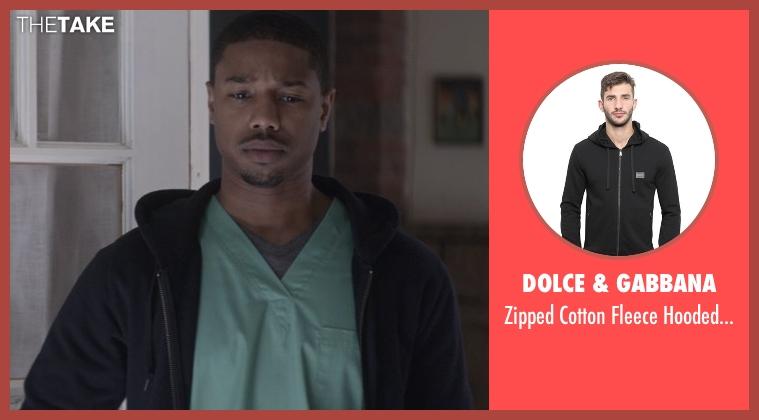 Dolce & Gabbana black sweatshirt from That Awkward Moment seen with Michael B. Jordan (Mikey)