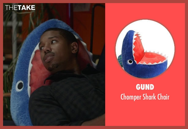 Gund chair from That Awkward Moment seen with Michael B. Jordan (Mikey)