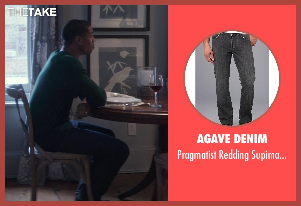Agave Denim gray pants from That Awkward Moment seen with Michael B. Jordan (Mikey)