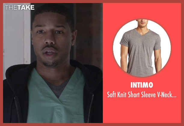 Intimo gray top from That Awkward Moment seen with Michael B. Jordan (Mikey)