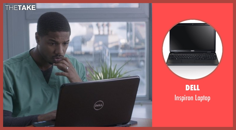 Dell laptop from That Awkward Moment seen with Michael B. Jordan (Mikey)