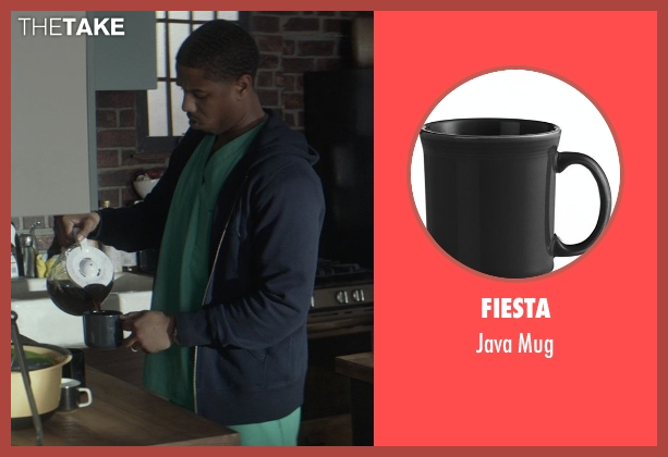 Fiesta mug from That Awkward Moment seen with Michael B. Jordan (Mikey)