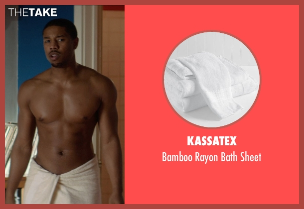 Kassatex sheet from That Awkward Moment seen with Michael B. Jordan (Mikey)