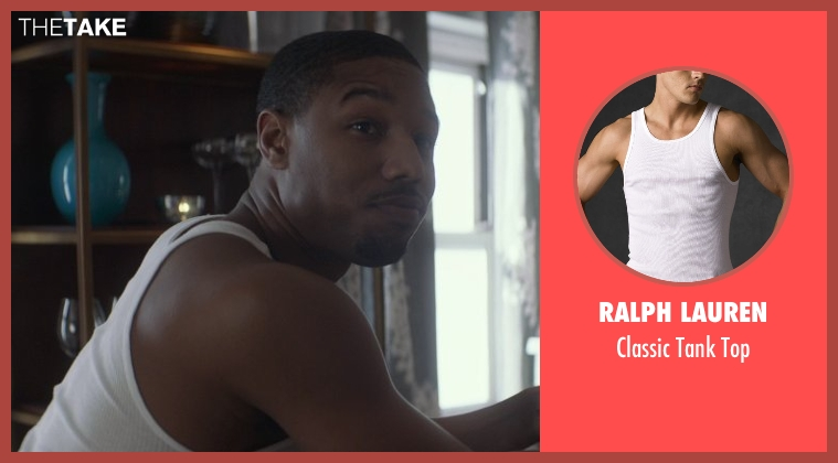 Ralph Lauren white top from That Awkward Moment seen with Michael B. Jordan (Mikey)