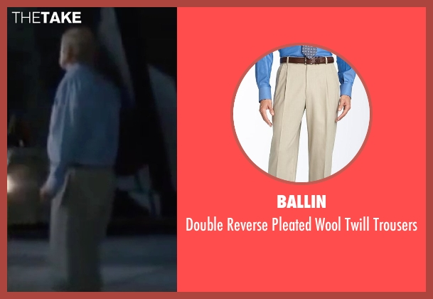 Ballin beige trousers from Interstellar seen with Michael Caine