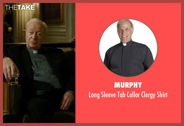 Murphy gray shirt from The Last Witch Hunter seen with Michael Caine (Father Dolan)