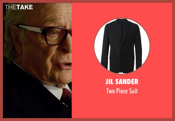Jil Sander black suit from Youth seen with Michael Caine (Fred Ballinger)